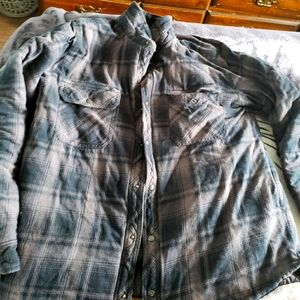 Size xl bc clothing winter plaid padded jacket
